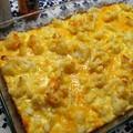 Pofonegyszerű csőben sült karfiol cheddar sajttal