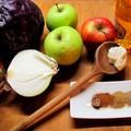 Almás párolt lilakáposzta, az unalmas