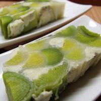 Póréhagymaterrin kék stilton sajttal: a tél egyik legjobb zöldsége a piedesztálon.