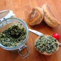 Pesto kora tavaszi vad fűszernövényekből