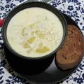 Burgonyás póréhagymaleves a vichyssoise leves alapján