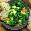 Böjti zöldségfőzelék a toszkán ribollita alapján