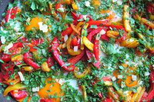 Tökös lecsó - shakshuka hibrid marokkói citrommal és más furcsaságokkal