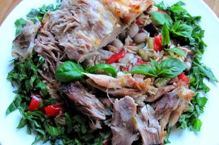 Zöldfűszeres omlós toszkán tarja