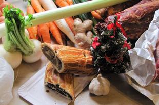 Szombati piaci bevásárlás már karácsonyra
