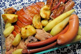 Elzászi káposztás bőségszaru: choucroute