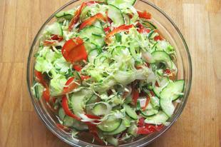 Gyors, marinált zöldségek csalamádé mintára