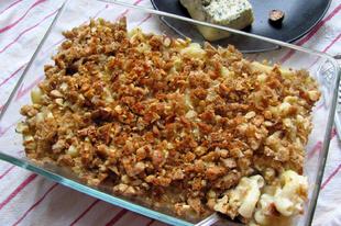 Sajtos tészta a piedesztálon: Mac and Cheese Stilton sajttal és dióval
