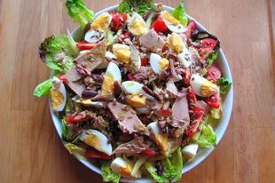 A kedvenc nyári salátám a nizzai saláta