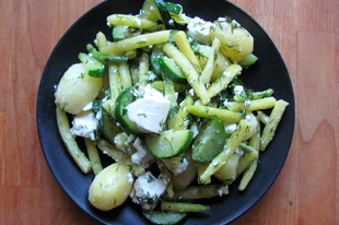 Görög zöldbabsaláta melegen