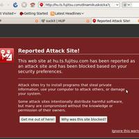 Fujitsu attacks