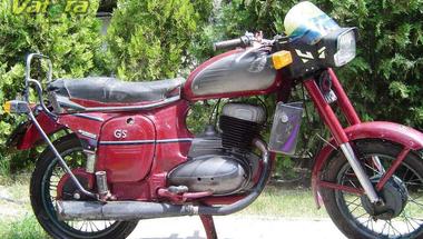 Jawa 559.9 GS , egy elfeledett prototípus.
