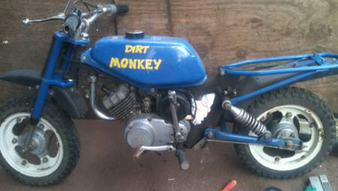 Dirt monkey update