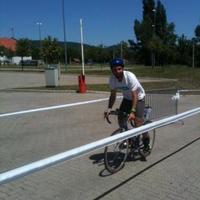 Balatonman váltó: a kerékpáros szerepében Alvégi Lóci!