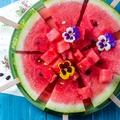 A sokoldalú görögdinnye. Készíts belőle pizzát és salátát!