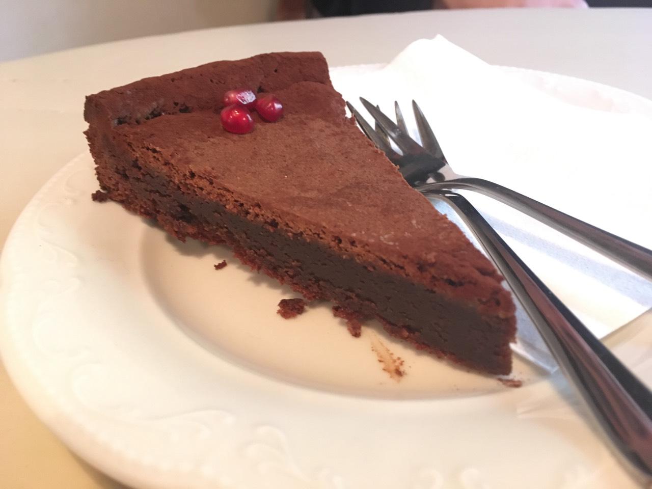 Mandulás csokoládétorta