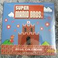 Super Mario Bros. naptár