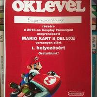 Cosplay farsang és Nintendo GameCube nap