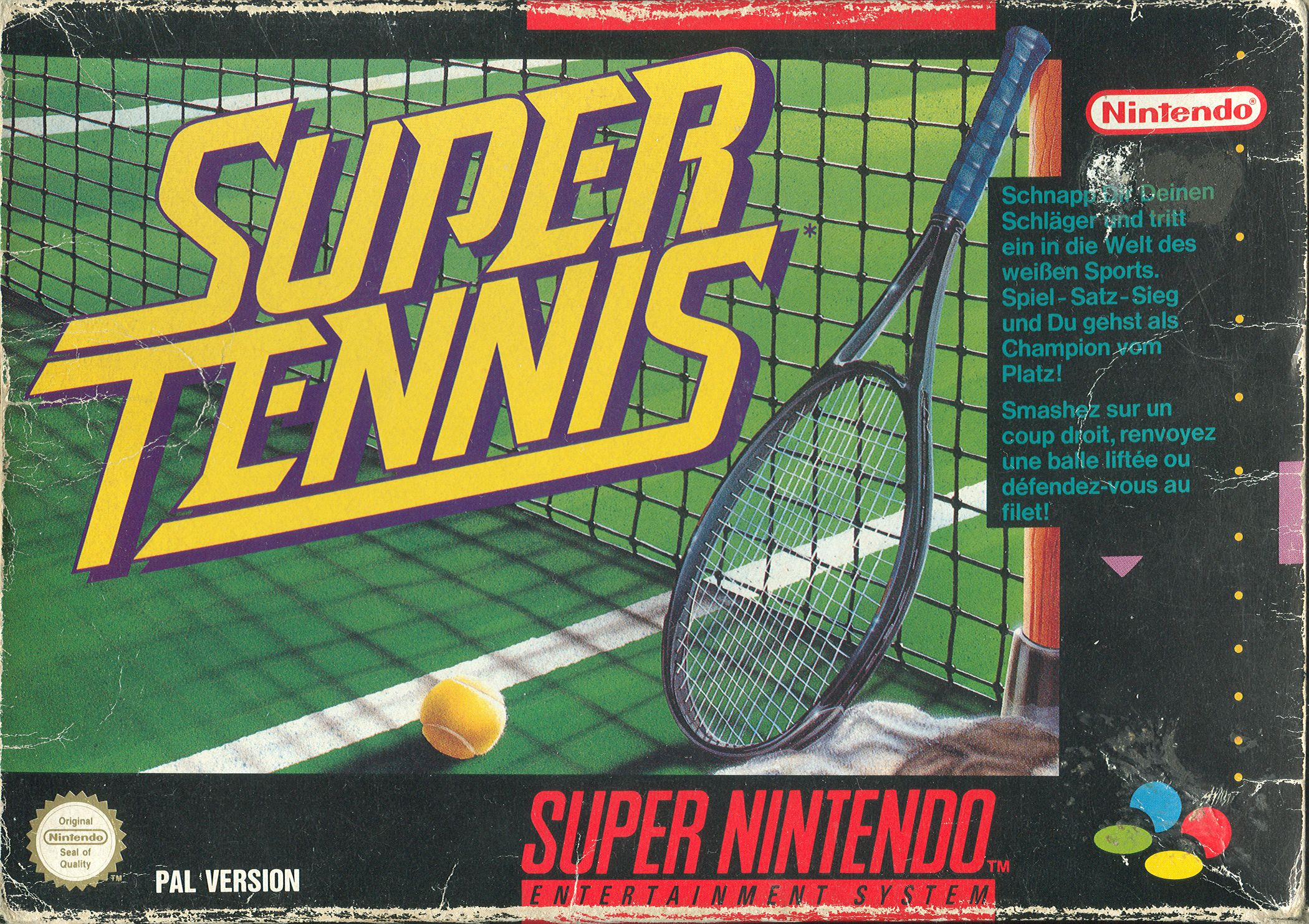 Super Tennis PAL