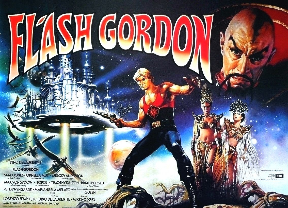 kritika] Flash Gordon (1980) - [Supernatural Movies]