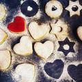 Linzer szívek és csillagok