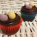 Húsvéti csokis cupcake