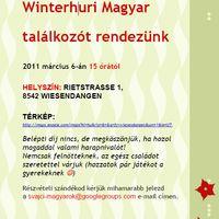 Svájcban élő magyarok találkoznak