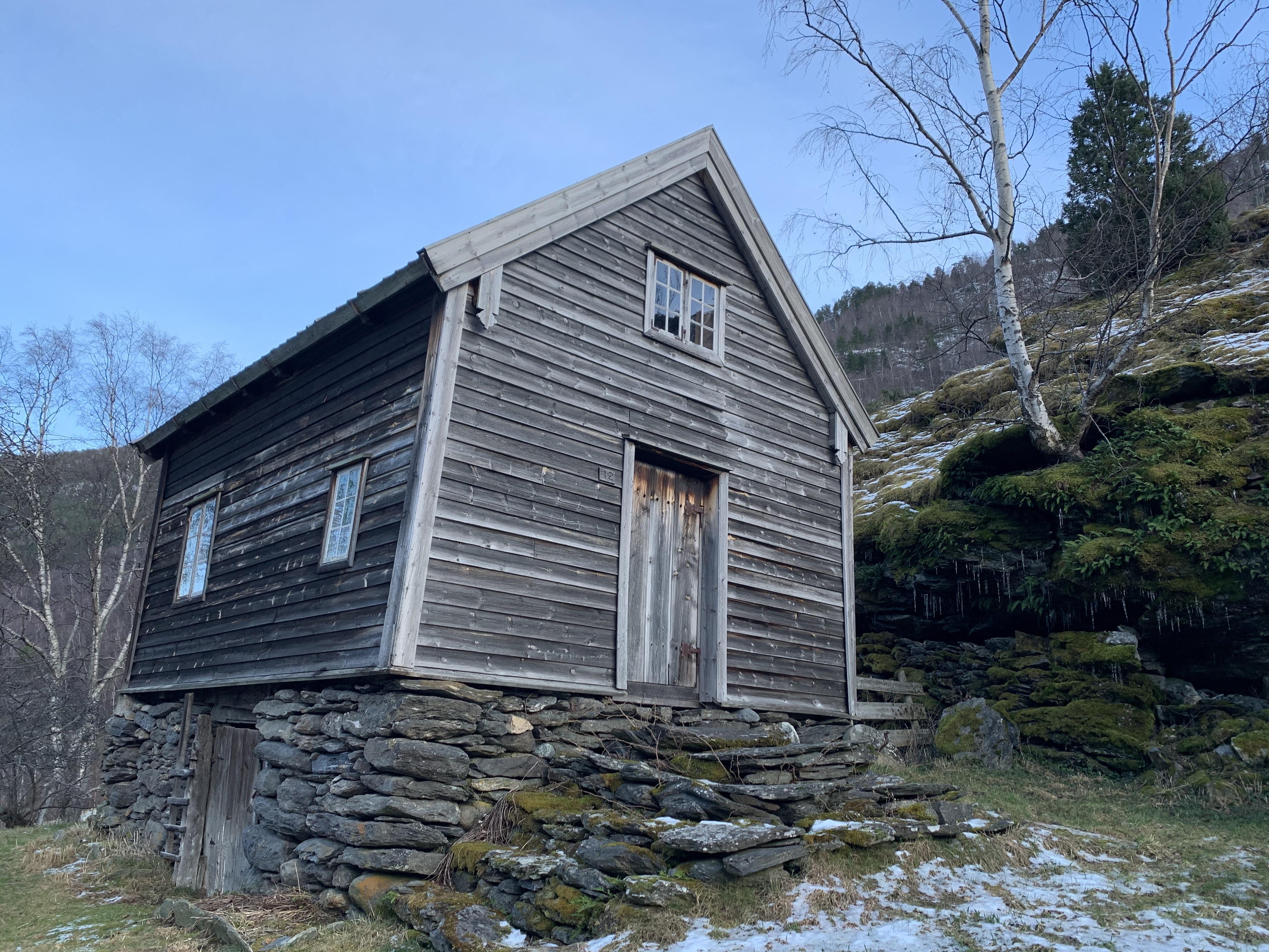 Otternes Bygdetun, az évszázados házakkal