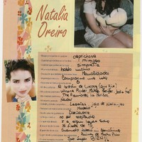 Natalia Oreiro: kedvencek