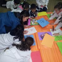 Natalia az új UNICEF projektben (2012.07.11.)
