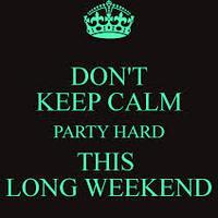 Hosszú hétvége....