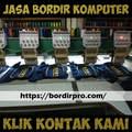 Usaha Jasa Bordir Komputer Emblem Logo Murah di Surabaya