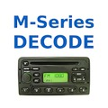 FORD Radio Code M-series - HU