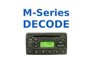 FORD Radio Code M-series - HU