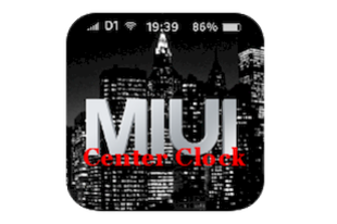 Center Clock Mod MIUI - HU
