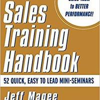 Sales Training Handbook Free Download