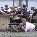 Videó: Fegyverropogás Óbuda főterén