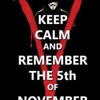 V, mint vérbosszú a Bem moziban november 5-én