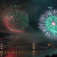 Videó: augusztus 20-ai tüzijáték Budapesten