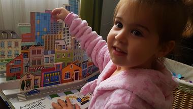 A 3 éves Virággal teszteltünk egy gyerekkönyvet!