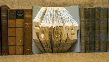 Van megunt könyved? Hajtogass belőle könyvszobrot!