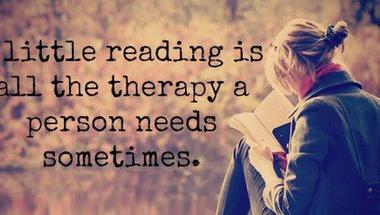 Olvasni terápiás céllal, avagy a könyvek bizony gyógyítanak!