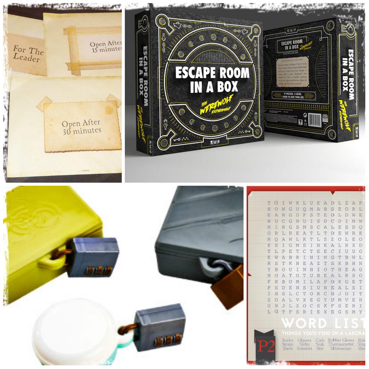 bd3492fe9e Történeti szempontból az első szabadulószoba társasjáték az Escape Room in  a Box néven árult Werewolf experiment. Ez a magyarul nem elérhető játék a  ...