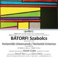 Horizontális Univerzumok.Fotók a megnyitóról