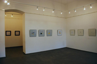 A négyzet hatalma.Kiállítás megnyitó szövege