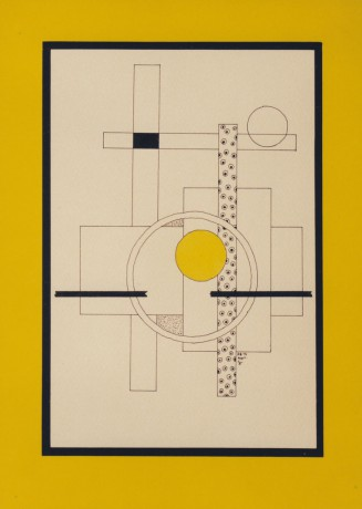 30x40 cm, papír, tus, 1997