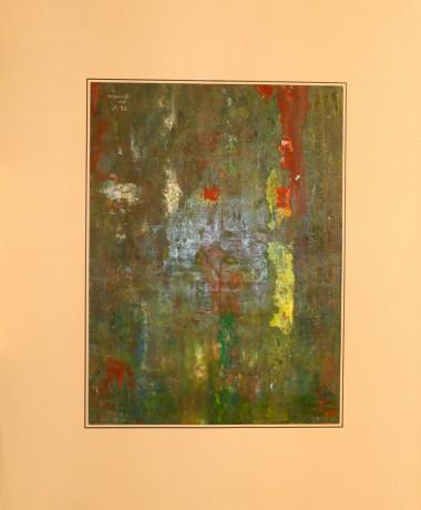 50x60 cm, papír, akril, 1995