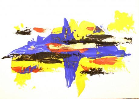 60x40 cm, papír, akril, 1998-2002