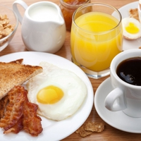 A reggeli