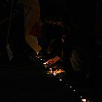 Demonstráció Tibetért